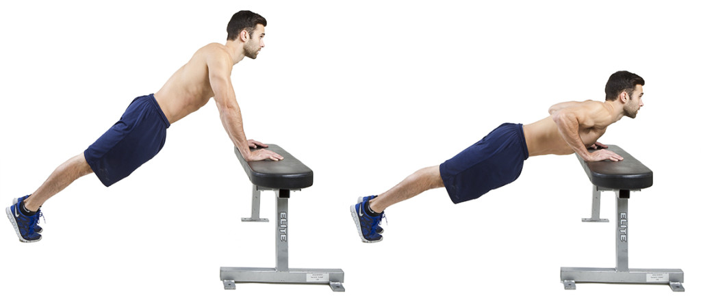 HIIT Exercise: How To Do Incline Push Ups