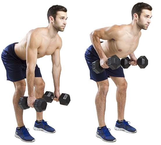 HIIT Exercise: How To Do Bent Over Rows