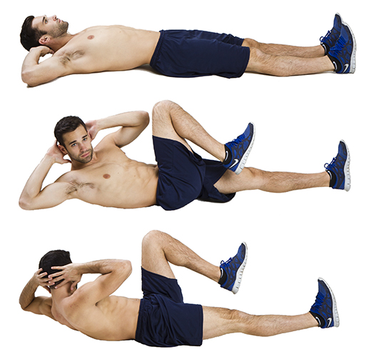 HIIT Exercise: How To Do Bicycle Crunches
