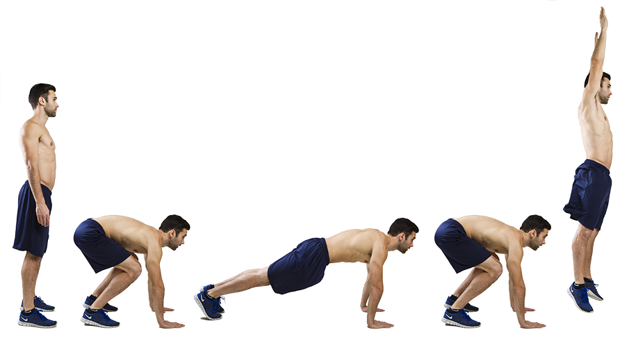HIIT Exercise: How To Do Burpees