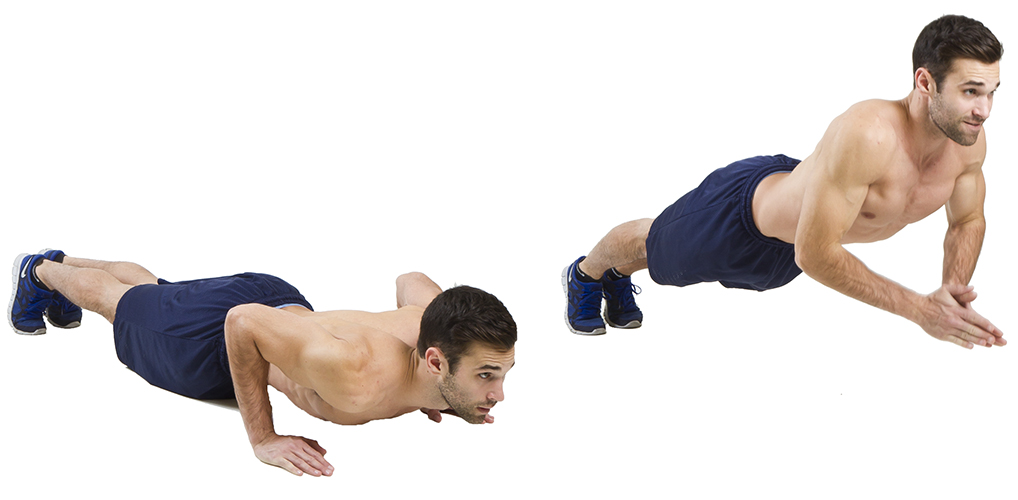 HIIT Exercise: How To Do Clap Push Ups