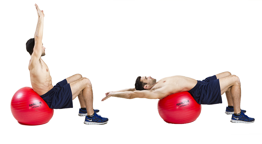 HIIT Exercise: How To Do Full Extension Crunches