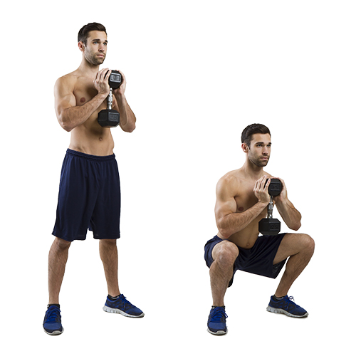 HIIT Exercise: How To Do Goblet Squats