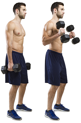 HIIT Exercise: How To Do Hammer Curls