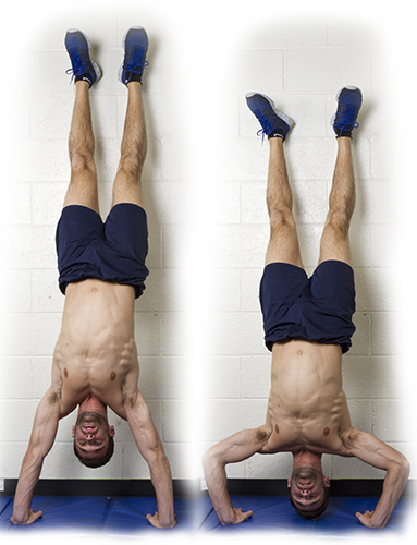 HIIT Exercise: How To Do Handstand Push Ups