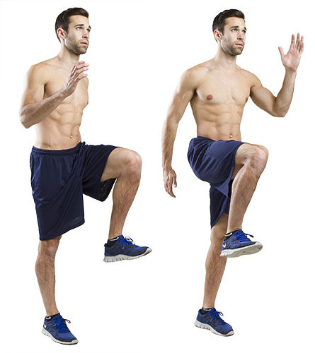 HIIT Exercise: How To Do High Knees