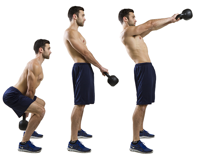 HIIT Exercise: How To Do Kettlebell Swings