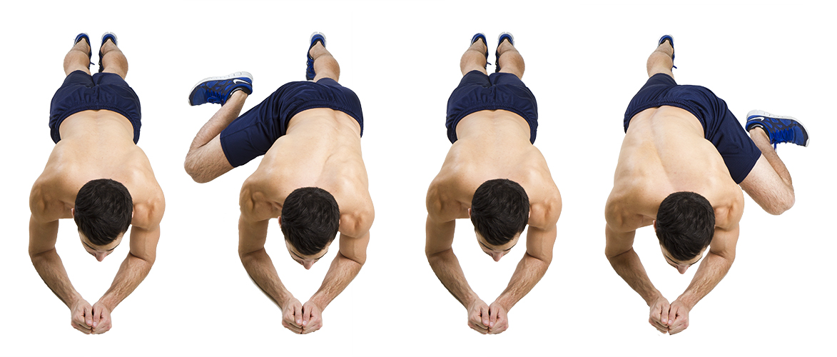 HIIT Exercise: How To Do Knee To Elbow Planks