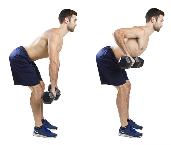 HIIT Exercise: How To Do Overhand Bent Rows
