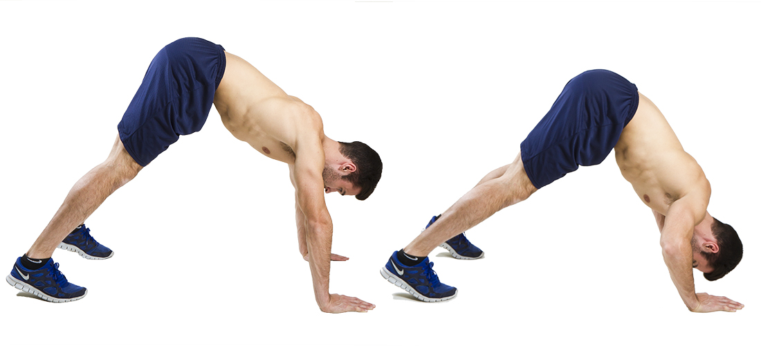 HIIT Exercise: How To Do Pike Push Ups