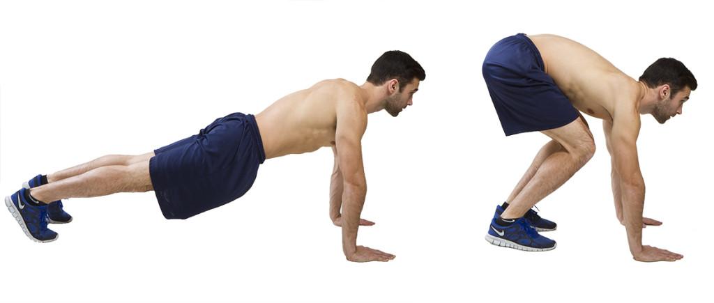 How To Do Plank Tucks