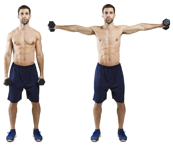 HIIT Exercise: How To Do Side Lateral Raise