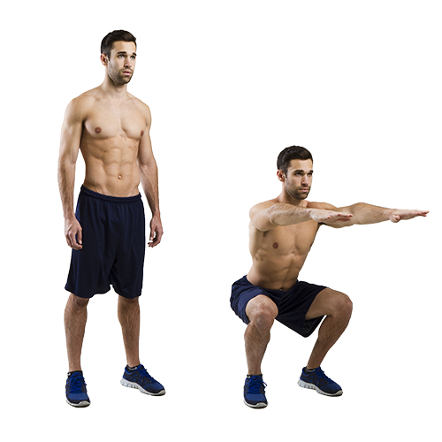 HIIT Exercise: How To Do Squats