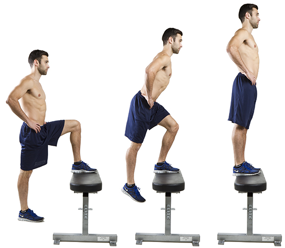 HIIT Exercise: How To Do Step Ups