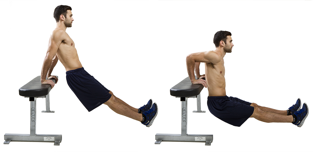 HIIT Exercise: How To Do Tricep Dips