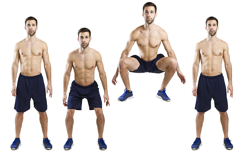 HIIT Exercise: How To Do Tuck Jumps