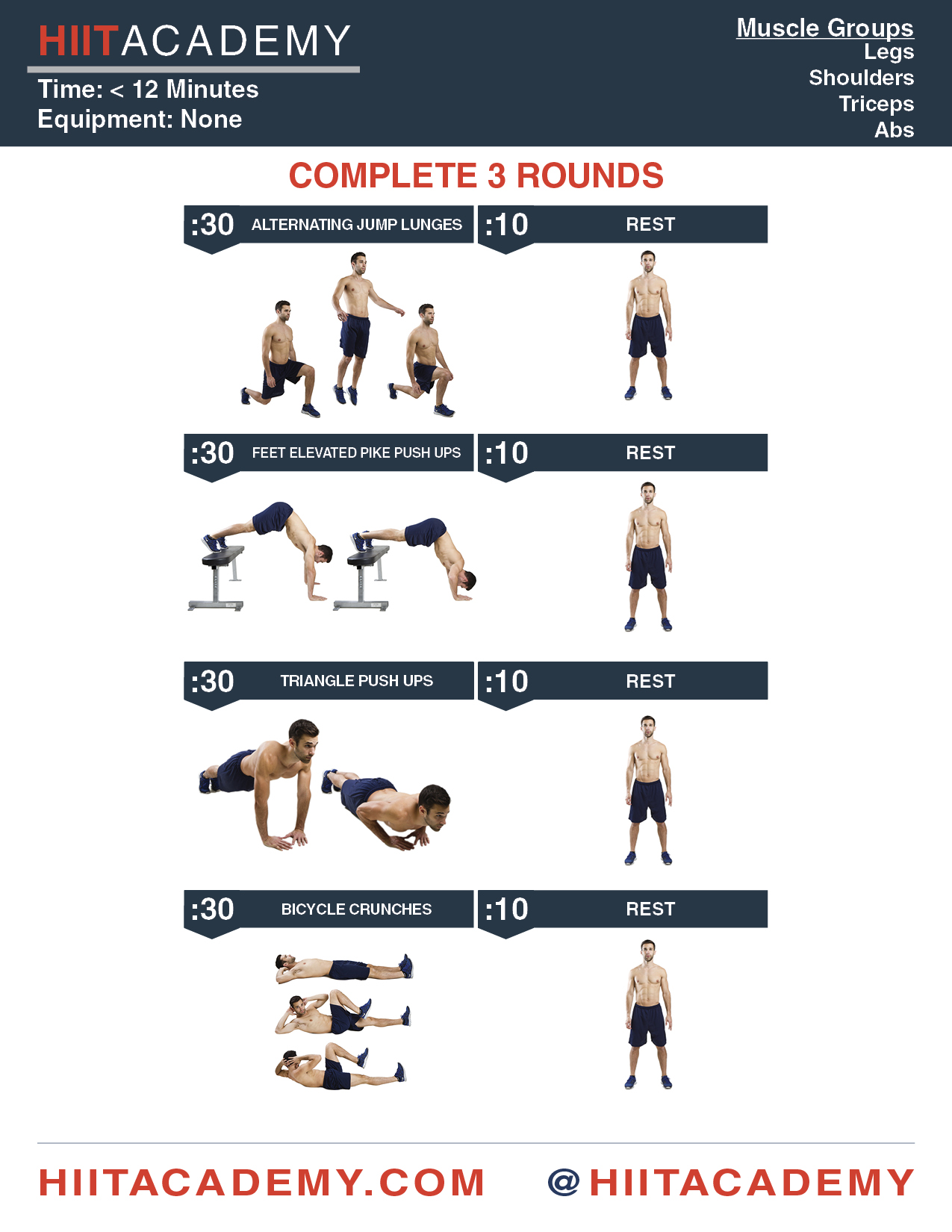 Monday's Jumpstart HIIT Workout