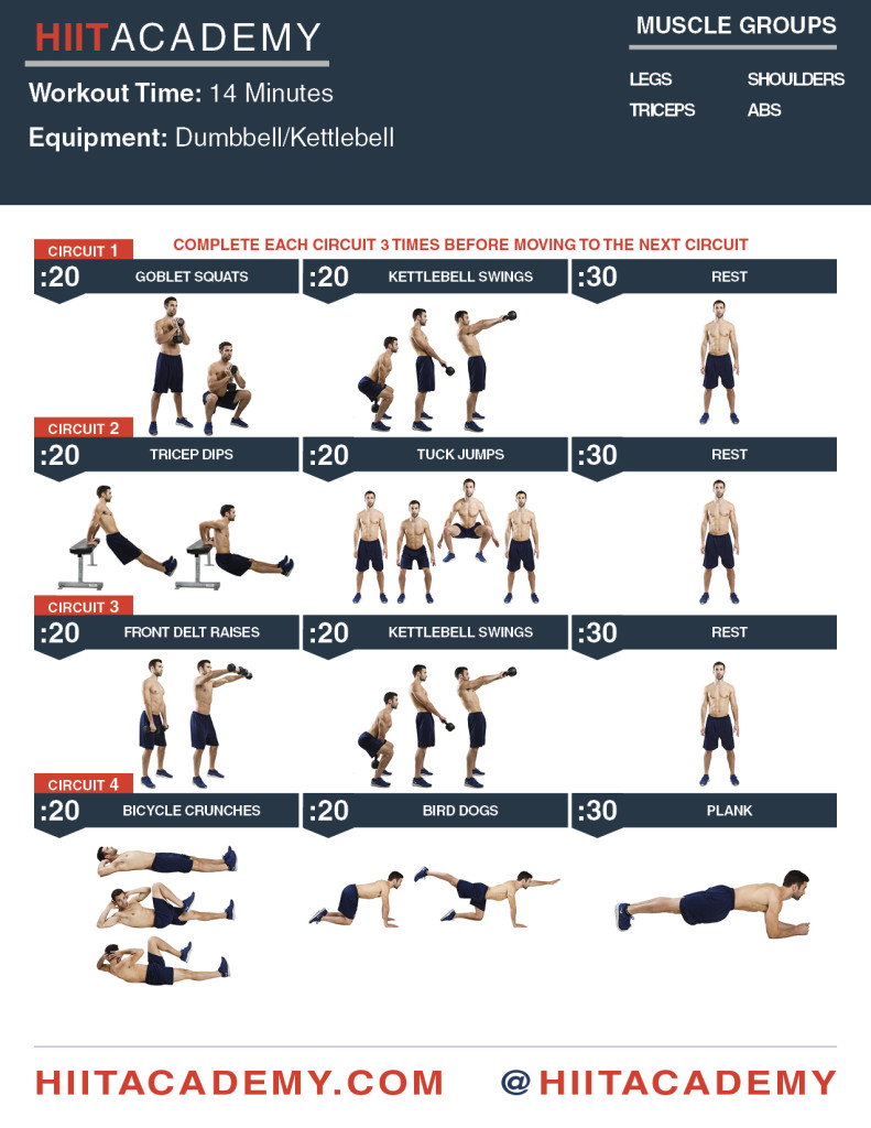 Full Body Dominator HIIT Academy Workouts