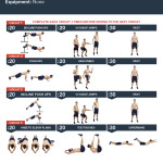 Beach Chest Press HIIT Workout