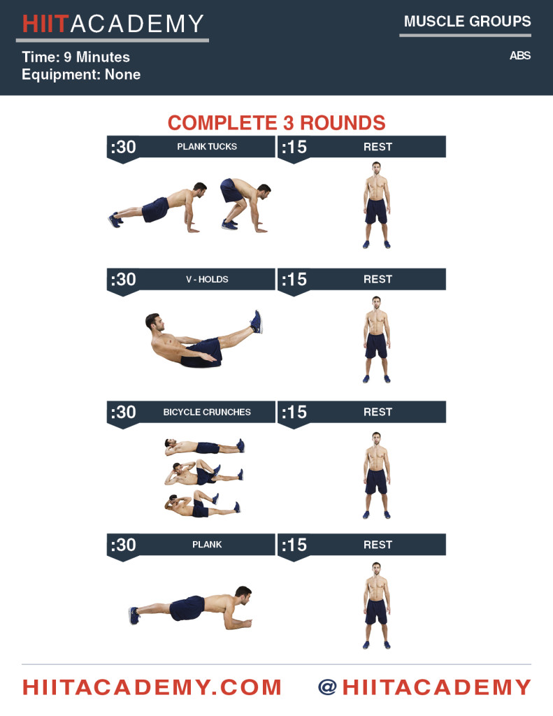 Ab HIIT Workout