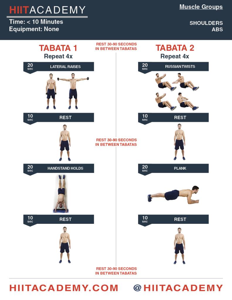 Shoulder Ab Tabata
