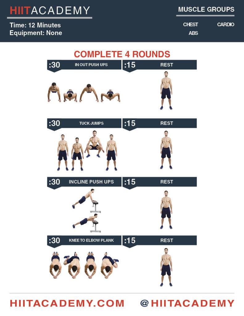 Extra Push HIIT Workout