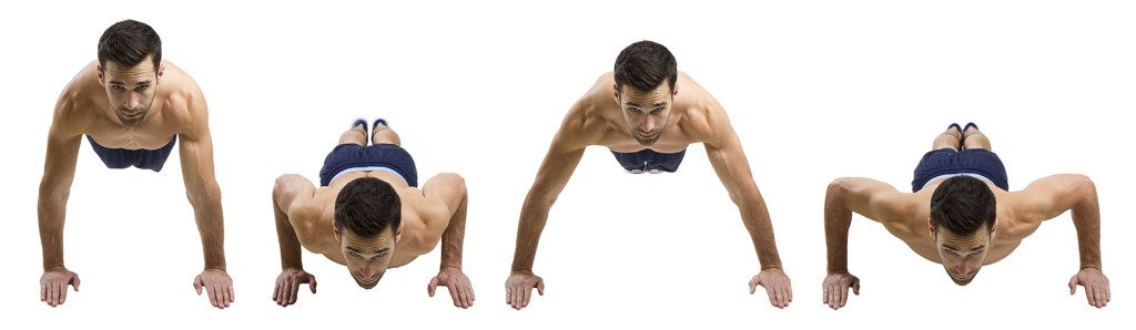 HIIT Exercise: How To Do In Out Push Ups