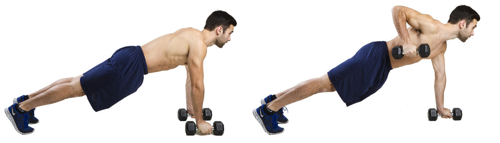 HIIT Exercise: How To Do Renegade Rows
