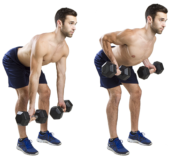How To Do Underhand Bent Rows