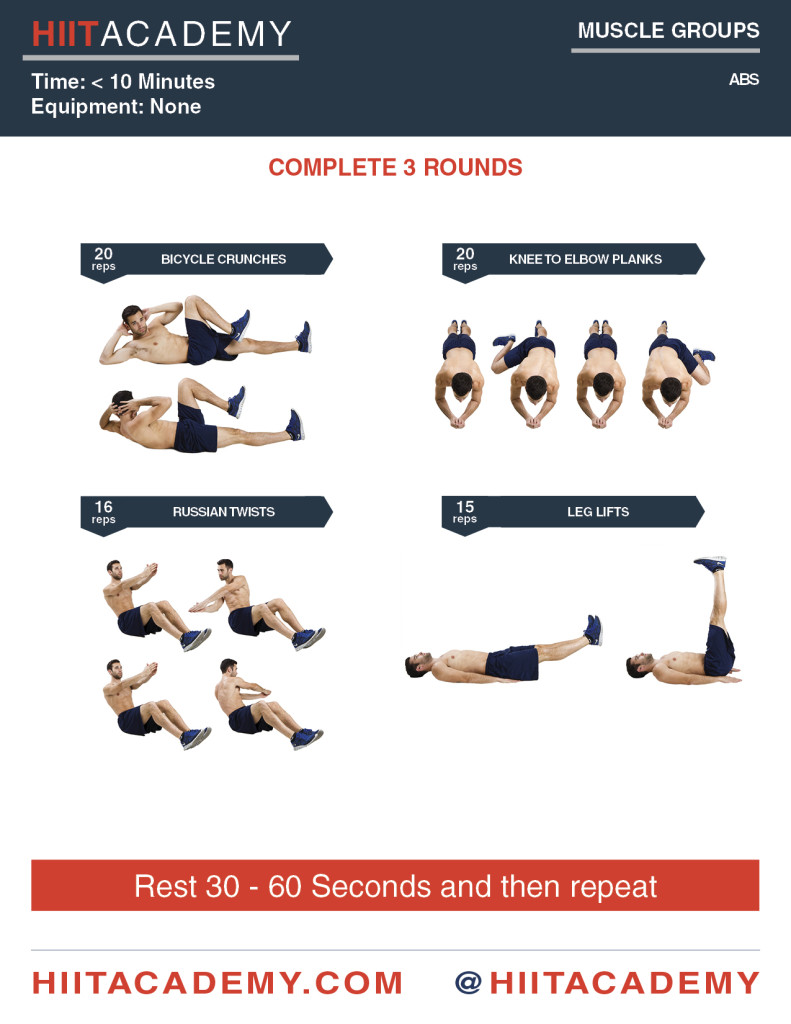 Crushing Morning Abs