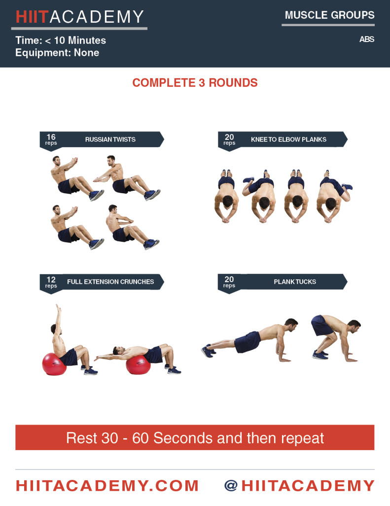Killer Quick Ab Workout