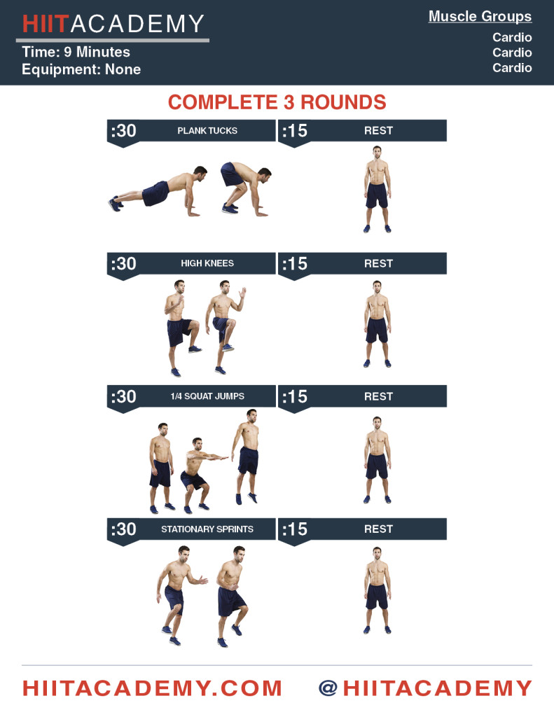 Complete Cardio HIIT Workout