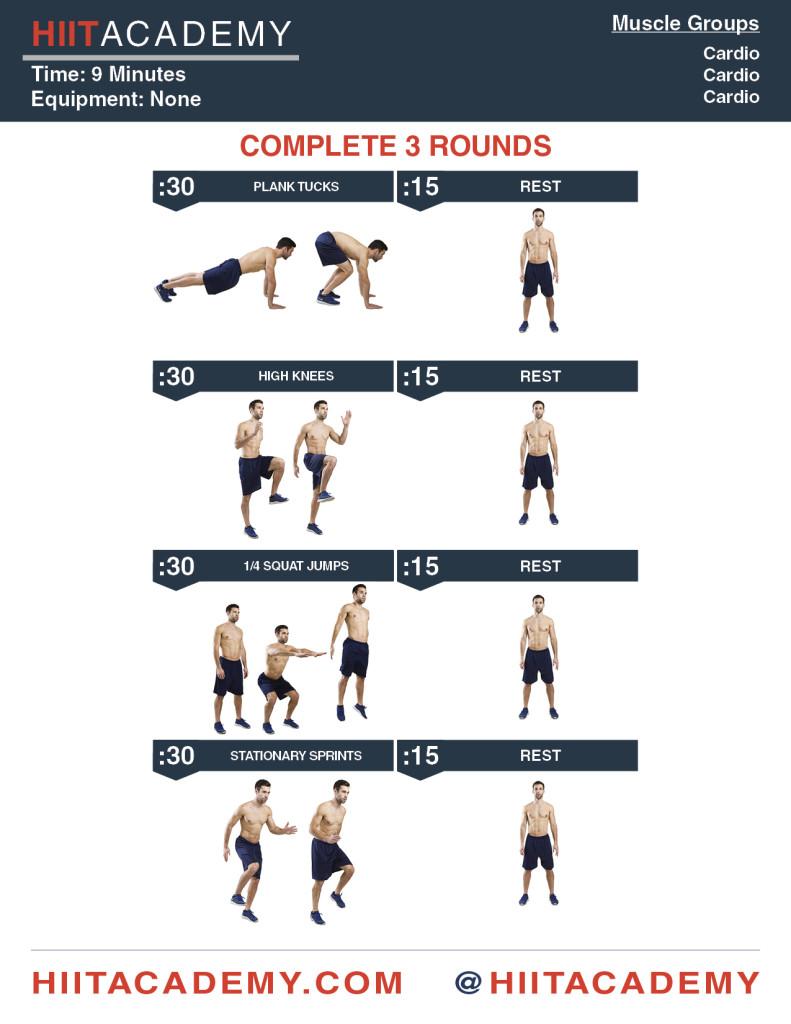 HIIT Academy's Complete Cardio HIIT Workout