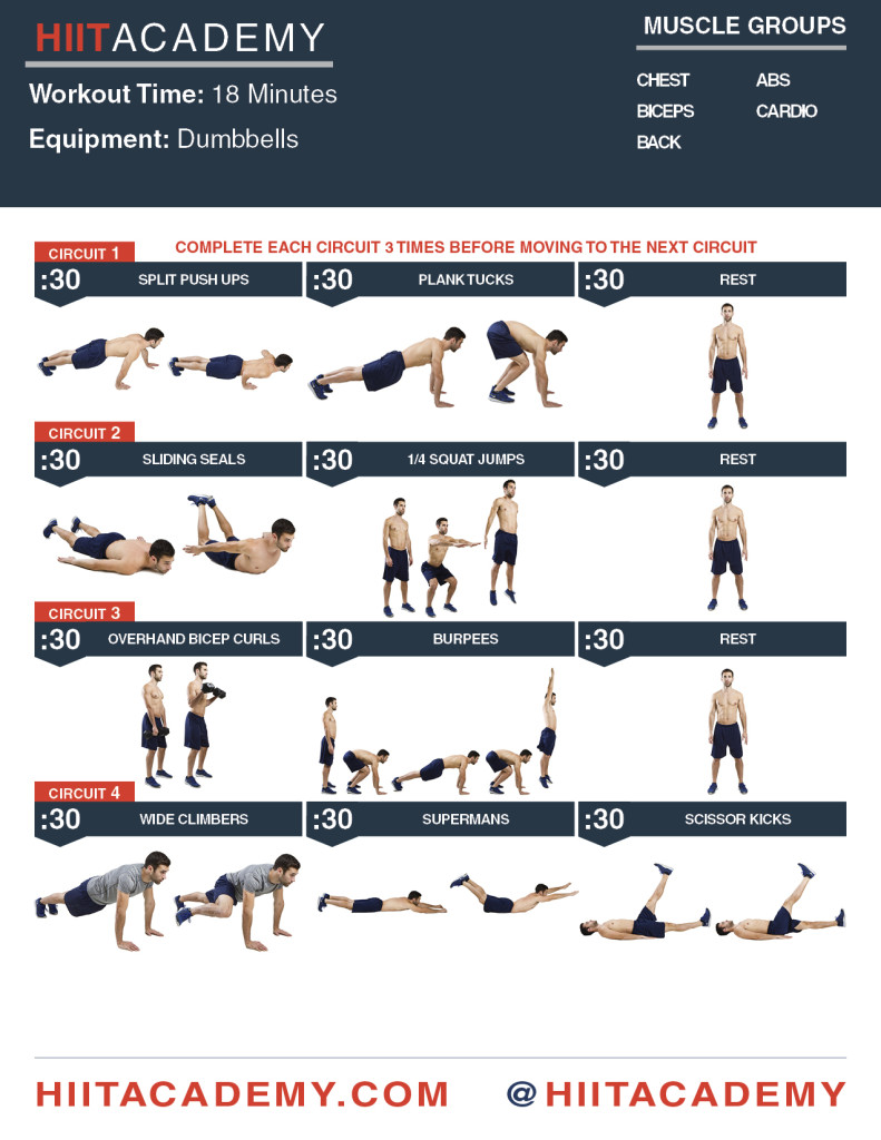 Monday Kickstart HIIT Workout