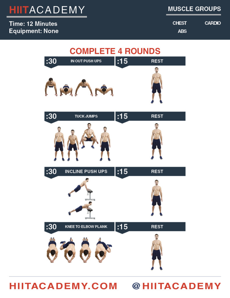 Extra Push HIIT Workout