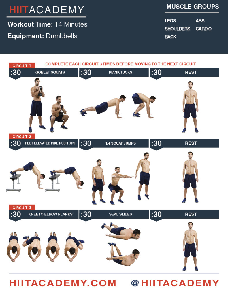Quick Power Up HIIT Workout